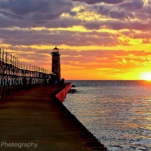 Manistee Michigan Sunset